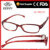[Plastic Spring hinge]2012 best buy wholesale reading glasses with red frame for women to discount promotional