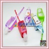 promotional gift silicone perfume bag with 30ML