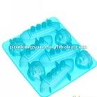 FDA Silicone Food Grade Ice Cube Tray Titanic Ice Cube Tray Silicone Ice Cube Tray Mold Maker PK-BG002