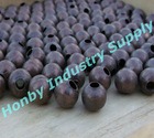 classical 8mm antique copper metal hollow bead