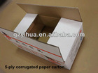 Ecofriendly 5 layer corrugated cardboard paper box packaging fruit