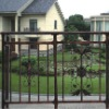 casting steel fence grill design for garden (China manufacturer)