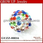 2012 trendy colorful shamballa bracelet beads