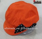 lady's beret hat 2012 bright cap