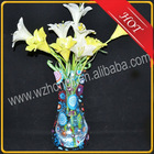 decorative plastic flower vase