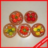 decoration fruit fridge magnet