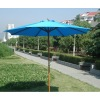 Dia. 270cm Garden wooden umbrella / Outdoor furniture Patio umbrellas