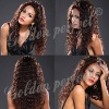 Fashion human hair front lace wigs