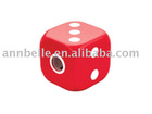 Dice with pencil sharpener