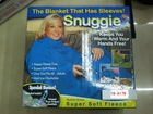 snuggie-the blanket with sleeves