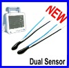 Dual sensor -- NTC thermistor temperature senor for medical application