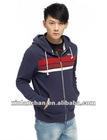 blank high quality custom 100% cotton hooded sweatshirt
