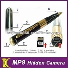 New pen camera support micro sd card
