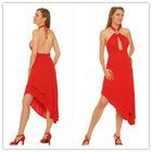 Sex Asymmetric Halter Samples Of Cocktail Dress 2012