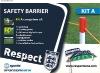 football barrier