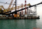 Revolving Piling Barge and Multipurpose Work Vessel