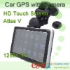 HD 720P DVR Car GPS with SiRF Atlas V CPU and Windows CE 6.0 OS