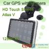 HD 720P DVR Car GPS with SiRF Atlas V CPU and Windows CE 6.0 OS