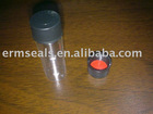 clear snap sample vial with cap