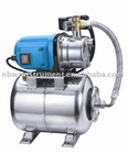 Jet pump with pressure system