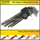 Good Quality Allen Wrench - 9PCS Extra long Ball Head Hex Key Nut Wrench Set