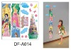 Priness Height wall stickers for girls