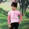 Girls long sleeve t-shirt, Kids tops