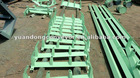 Belt Conveyor Idler paint frame.Bracket for conveyor throughing idler