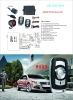 universal one way car alarm system with autamation central locking