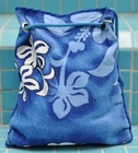 Printed cotton beach towel bag CU-247