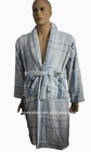 Stock Coral Fleece Bathrobe for Men