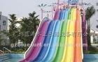 Rainbow water slide