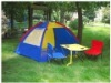 Kids Gazebo & Patio Beach set in Carrybag Trolley / children beach chair table set / kids beach shelter