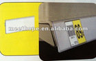 supermarket claer PVC Self adhesive label holder