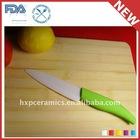 72mm 3inch White Black Color Handle Ceramic Paring Knife