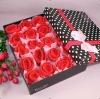 rose set gift towel