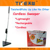 Cordless twister sweeper TZ-TV700 Triangle Cordless Sweeper with Rechargeable Battery&360 degrees head swivel