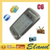 "Hot sale 3 Sim card phone C6 2.8"" Touch screen cheap tv phones"