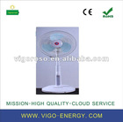 """16"""" Stand Oscillating Rechargeable Fan W/Lights"""