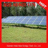 Open field ground solar mounting system