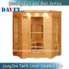 4 person infrared sauna room for public use