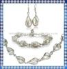 Nice African Fashion Pearl Jewelry Set PJS034