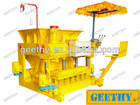 QMY6-25 egg laying cement decorated block machine