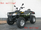 ATV with diesel engine