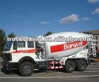 NORTH BENZ 6X4 5 CBM CONCRETE MIXER TRUCK