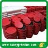 Red PU 4pcs Coaster Sets