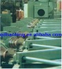 Short blasting machine for steel pipe surface