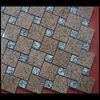 Chinese Mix Maple Red &Surf White Diamond Granite Flooring Pattern