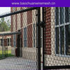 Residential vinyl house fence