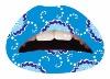 C132/ hot sell amazing lip sticker / Lip tattoo sticker / Instant Lipstick